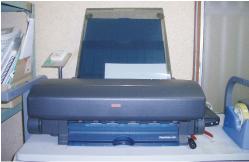 簡易CTP 名刺、簡単な印刷物用のCTP出力機